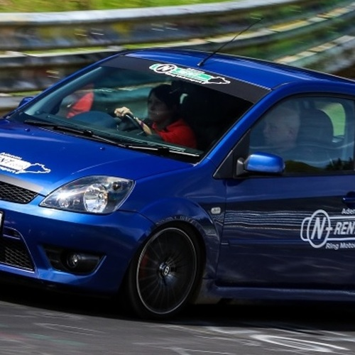 RIGHT HAND DRIVE FIESTA ST 150 HP NURBURGRING NORDSCHLEIFE
