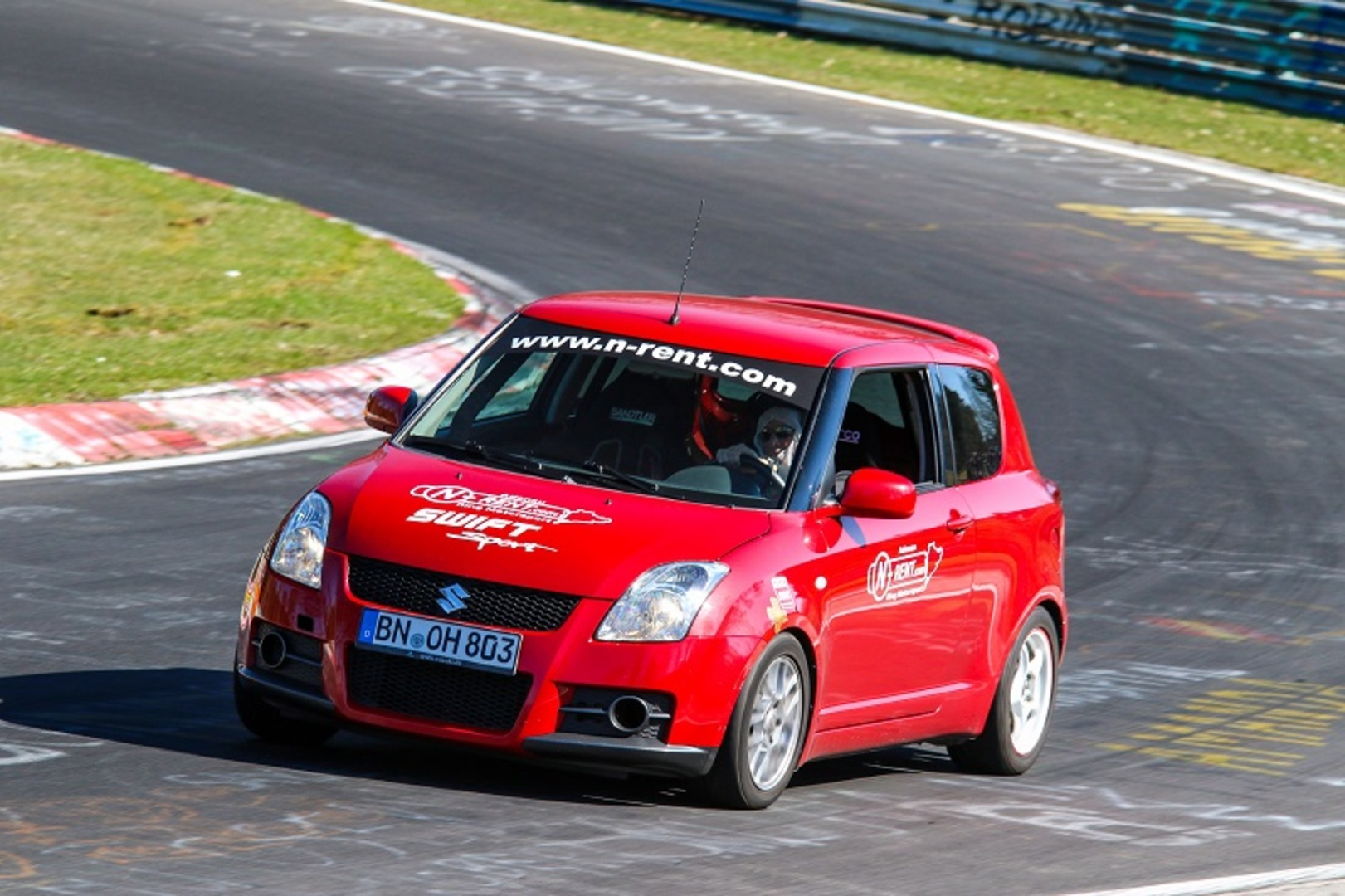Suzuki swift nurburgring